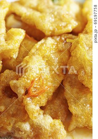 韓国の中華料理 中華風酢豚クォバロウ 69197758