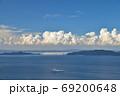 ジャンボフェリーと小豆島・小豊島(香川県高松市庵治竜王山公園より) 69200648