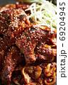 韓国料理 激辛骨付きカルビ 69204945