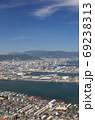 屋島から見た高松市街 69238313