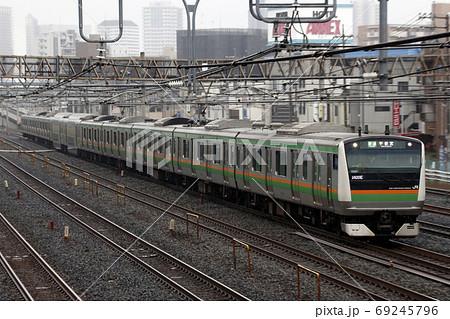 [JU]上野東京ラインE233系(宇都宮線直通) 69245796
