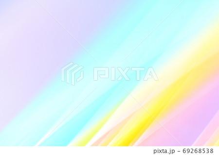 パステルカラーの抽象的背景 緩やかなライン 69268538