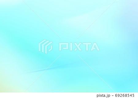 背景素材  青色・緑色系グラデーション 69268545