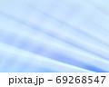 抽象的背景 青色系のストライプ・ライン 69268547