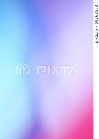 背景素材 青色・紫色系 グラデーション 縦位置 69268553