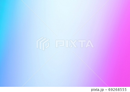背景素材 青色・紫色系 グラデーション 69268555