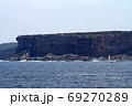 シドニー湾の断崖絶壁の海岸 69270289