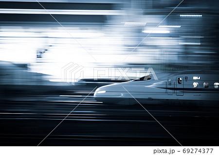 東京駅に停車する東海道新幹線N700系 69274377