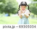 幼稚園 保育園 女の子 子ども マスク 69305034