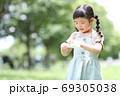 幼稚園 保育園 女の子 子ども マスク 69305038