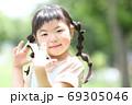 幼稚園 保育園 女の子 子ども マスク 69305046
