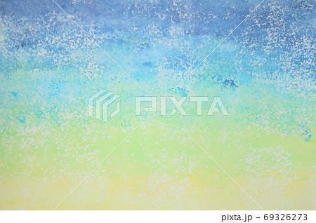 抽象的背景 青色系 グラデーション でこぼこした表面 69326273