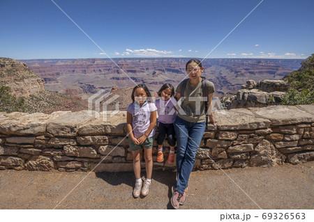 アメリカ グランドキャニオンでの記念撮影 69326563