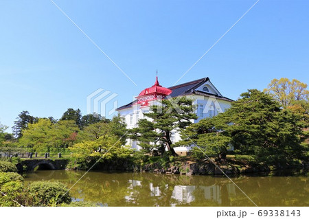 鶴岡の洋風建築、大寶館(大正初期) 69338143