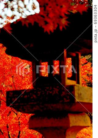 【兵庫県 三木市】秋をまとう影灯篭 69363304