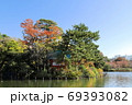 紅葉の洗足池 東京都大田区 69393082