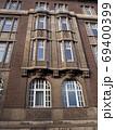 ハノーバー市街地の建物風景(ドイツ) 69400399