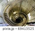 奥多摩の白丸ダムの魚道の螺旋階段 69413525