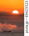 近畿隋一の遠浅の海岸「新舞子」の日の出(兵庫県たつの市御津町)※作品コメント欄に撮影位置 69423523