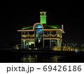 横浜ぷかりさん橋ライトアップ、夜景、みなとみらい 69426186