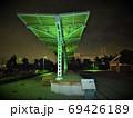 旧横浜駅プラットフォーム、ライトアップ、横浜みなとみらい 69426189