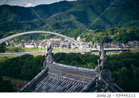 福知山城天守閣からの眺め 69446213