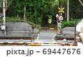 車両接近・立ち入り禁止・ 69447676