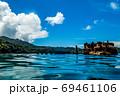 小笠原 父島の座礁船 濱江丸 69461106
