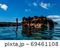 小笠原 父島の座礁船 濱江丸 69461108