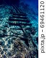 小笠原 父島の座礁船 濱江丸 69461120