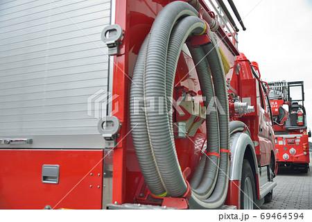 【神奈川県】横須賀市 消防出初式で公開された消防車 69464594