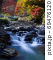 原不動滝公園の紅葉(兵庫県) 69476120