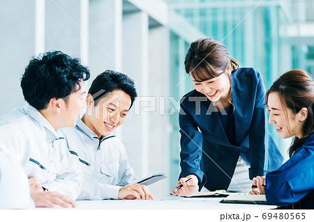 ビジネス 作業服  69480565