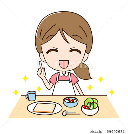 主婦とパン 69492631