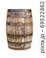 古い木の樽 69522862