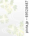 糸菊の喪中はがきタテベクター配置調整可 69528487