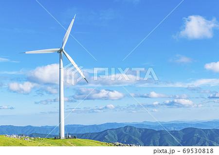 四国カルストと風力発電所 69530818