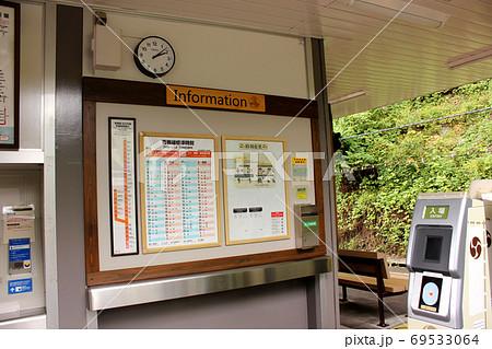 新しく作り直された青梅線軍畑駅の改札口 69533064