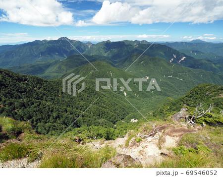 太郎山から日光白根・尾瀬方面の眺め 69546052
