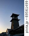 時の鐘 夕焼け 69561499