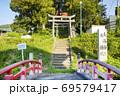 岩下温泉 走湯神社 天神社 69579417