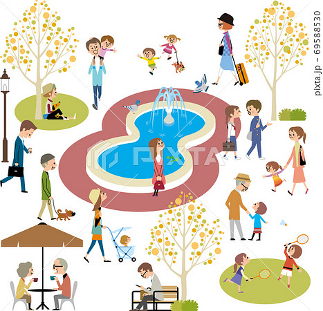 公園の人たち 69588530