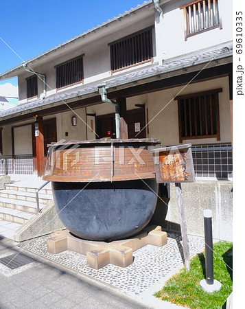 「菊正宗酒造記念館」にある醸造の大窯/神戸のレトロな灘の酒蔵 69610335
