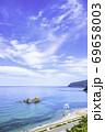福岡県 糸島市 夫婦岩の絶景を楽しめるドライブコース 69658003