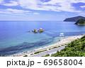 福岡県 糸島市 夫婦岩の絶景を楽しめるドライブコース 69658004