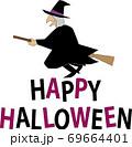 ハロウィンの魔女 69664401