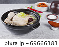 Delicious Korean food, a collection of various Korean dishes 270 69666383
