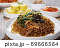 Delicious Korean food, a collection of various Korean dishes 298 69666384