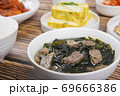 Delicious Korean food, a collection of various Korean dishes 299 69666386