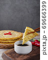 Delicious Korean food, a collection of various Korean dishes 284 69666399